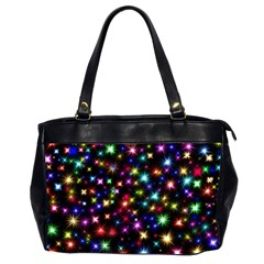 Fireworks Rocket New Year S Day Office Handbags (2 Sides)  by Celenk