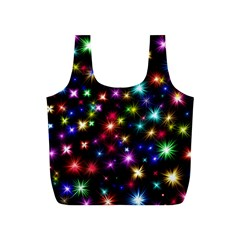 Fireworks Rocket New Year S Day Full Print Recycle Bags (s)  by Celenk