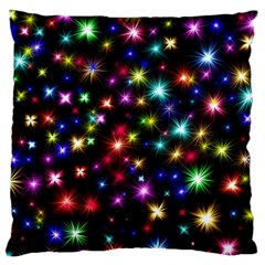 Fireworks Rocket New Year S Day Large Flano Cushion Case (one Side)