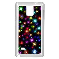 Fireworks Rocket New Year S Day Samsung Galaxy Note 4 Case (white) by Celenk