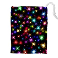 Fireworks Rocket New Year S Day Drawstring Pouches (xxl) by Celenk