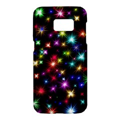 Fireworks Rocket New Year S Day Samsung Galaxy S7 Hardshell Case  by Celenk