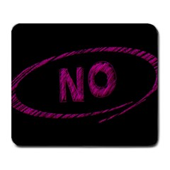 No Cancellation Rejection Large Mousepads by Celenk