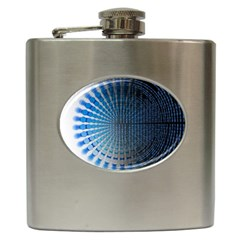 Data Computer Internet Online Hip Flask (6 Oz) by Celenk