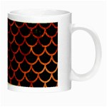 SCALES1 BLACK MARBLE & COPPER PAINT (R) Night Luminous Mugs Right