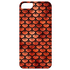 Scales3 Black Marble & Copper Paint Apple Iphone 5 Classic Hardshell Case by trendistuff
