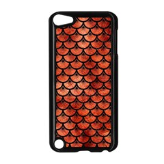 Scales3 Black Marble & Copper Paint Apple Ipod Touch 5 Case (black)