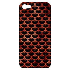 Scales3 Black Marble & Copper Paint (r) Apple Iphone 5 Hardshell Case by trendistuff