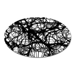 Neurons Brain Cells Brain Structure Oval Magnet