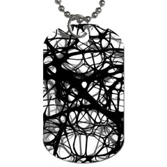 Neurons Brain Cells Brain Structure Dog Tag (Two Sides)