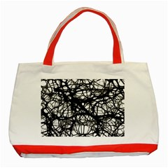 Neurons Brain Cells Brain Structure Classic Tote Bag (Red)