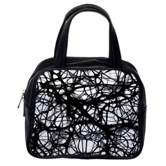 Neurons Brain Cells Brain Structure Classic Handbags (One Side)