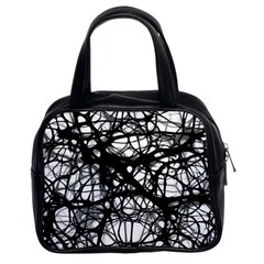 Neurons Brain Cells Brain Structure Classic Handbags (2 Sides)