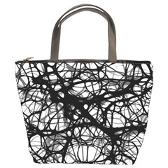 Neurons Brain Cells Brain Structure Bucket Bags by Celenk