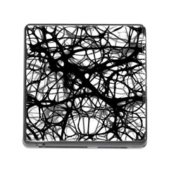 Neurons Brain Cells Brain Structure Memory Card Reader (Square)