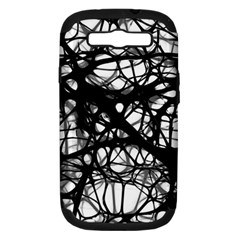 Neurons Brain Cells Brain Structure Samsung Galaxy S III Hardshell Case (PC+Silicone)