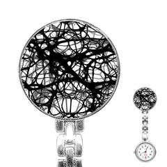 Neurons Brain Cells Brain Structure Stainless Steel Nurses Watch