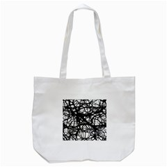 Neurons Brain Cells Brain Structure Tote Bag (White)