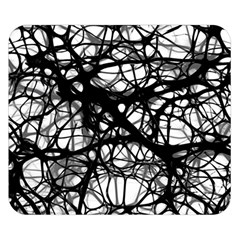 Neurons Brain Cells Brain Structure Double Sided Flano Blanket (Small)