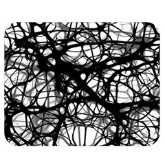Neurons Brain Cells Brain Structure Double Sided Flano Blanket (Medium)