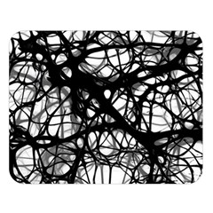 Neurons Brain Cells Brain Structure Double Sided Flano Blanket (Large)