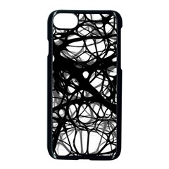 Neurons Brain Cells Brain Structure Apple iPhone 7 Seamless Case (Black)