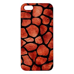 Skin1 Black Marble & Copper Paint (r) Apple Iphone 5 Premium Hardshell Case by trendistuff