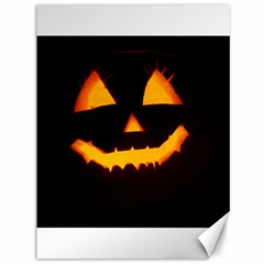 Pumpkin Helloween Face Autumn Canvas 36  X 48   by Celenk