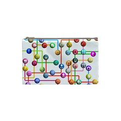 Icon Media Social Network Cosmetic Bag (small)  by Celenk