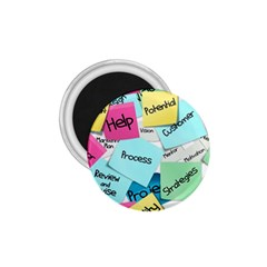 Stickies Post It List Business 1 75  Magnets by Celenk
