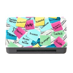 Stickies Post It List Business Memory Card Reader With Cf by Celenk