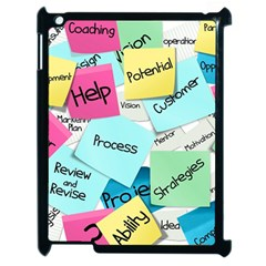 Stickies Post It List Business Apple Ipad 2 Case (black) by Celenk