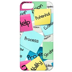 Stickies Post It List Business Apple Iphone 5 Classic Hardshell Case by Celenk