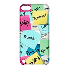 Stickies Post It List Business Apple Ipod Touch 5 Hardshell Case With Stand by Celenk