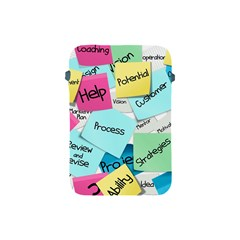 Stickies Post It List Business Apple Ipad Mini Protective Soft Cases by Celenk