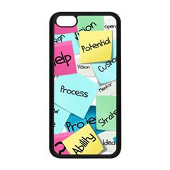 Stickies Post It List Business Apple Iphone 5c Seamless Case (black) by Celenk