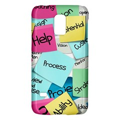 Stickies Post It List Business Galaxy S5 Mini by Celenk