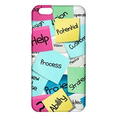 Stickies Post It List Business Iphone 6 Plus/6s Plus Tpu Case by Celenk