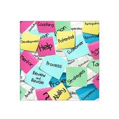 Stickies Post It List Business Satin Bandana Scarf by Celenk