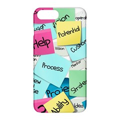 Stickies Post It List Business Apple Iphone 8 Plus Hardshell Case by Celenk