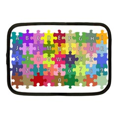 Puzzle Part Letters Abc Education Netbook Case (medium)  by Celenk