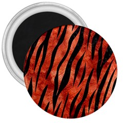 Skin3 Black Marble & Copper Paint 3  Magnets