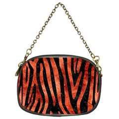 Skin4 Black Marble & Copper Paint Chain Purses (one Side)  by trendistuff