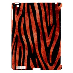 Skin4 Black Marble & Copper Paint Apple Ipad 3/4 Hardshell Case (compatible With Smart Cover) by trendistuff