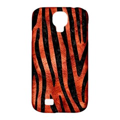 Skin4 Black Marble & Copper Paint (r) Samsung Galaxy S4 Classic Hardshell Case (pc+silicone) by trendistuff
