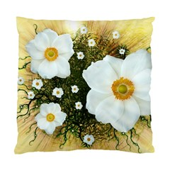 Summer Anemone Sylvestris Standard Cushion Case (two Sides)