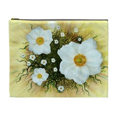 Summer Anemone Sylvestris Cosmetic Bag (xl) by Celenk
