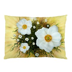 Summer Anemone Sylvestris Pillow Case (two Sides)