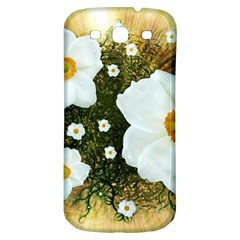 Summer Anemone Sylvestris Samsung Galaxy S3 S Iii Classic Hardshell Back Case by Celenk