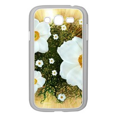 Summer Anemone Sylvestris Samsung Galaxy Grand Duos I9082 Case (white) by Celenk